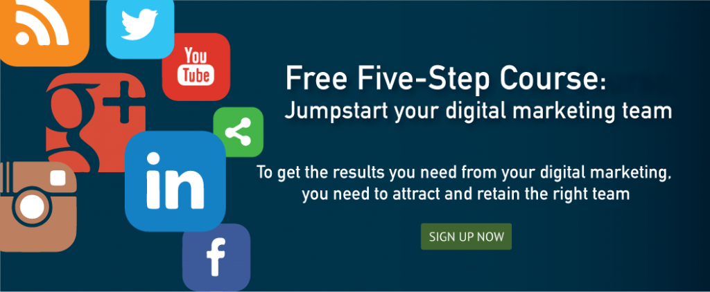 Free Five-Step Course Button